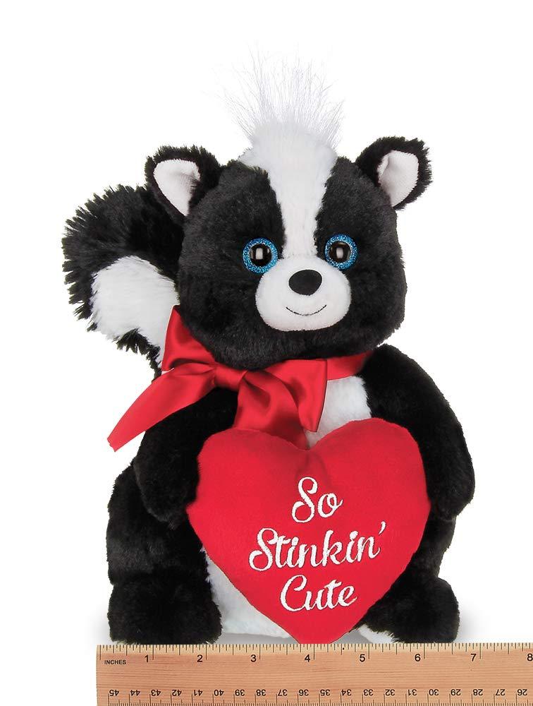 Amazon.com: Bearington Romeo Valentines - Bocina de peluche ...