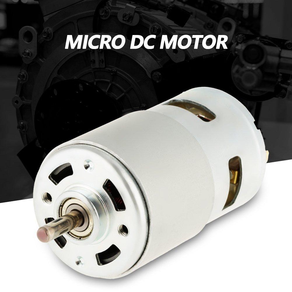Motor DC de rodamiento destornilladores el/éctricos 795 12V 12000RPM Rodamiento de bolas doble de alta velocidad Motor DC sin escobillas Motor de DC sin escobillas para herramientas el/éctricas