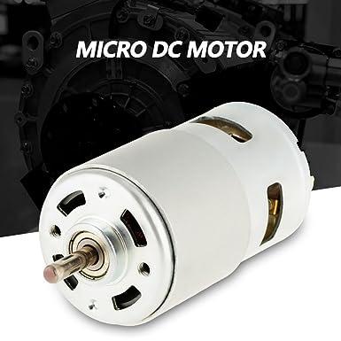 775 12V 12000 RPM Elettrico Piccolo Micro Motore ad alta velocit/à in miniatura DC Brushless Motor per Electric Power Tool