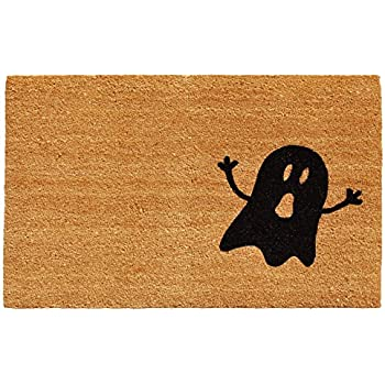 Home & More 102011729 Ghost Doormat, 1'5 by 2'5, Natural/Black