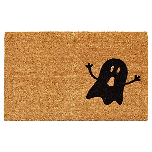 Calloway Mills Home & More 102011729 Ghost Doormat Natural/Black17 x 29