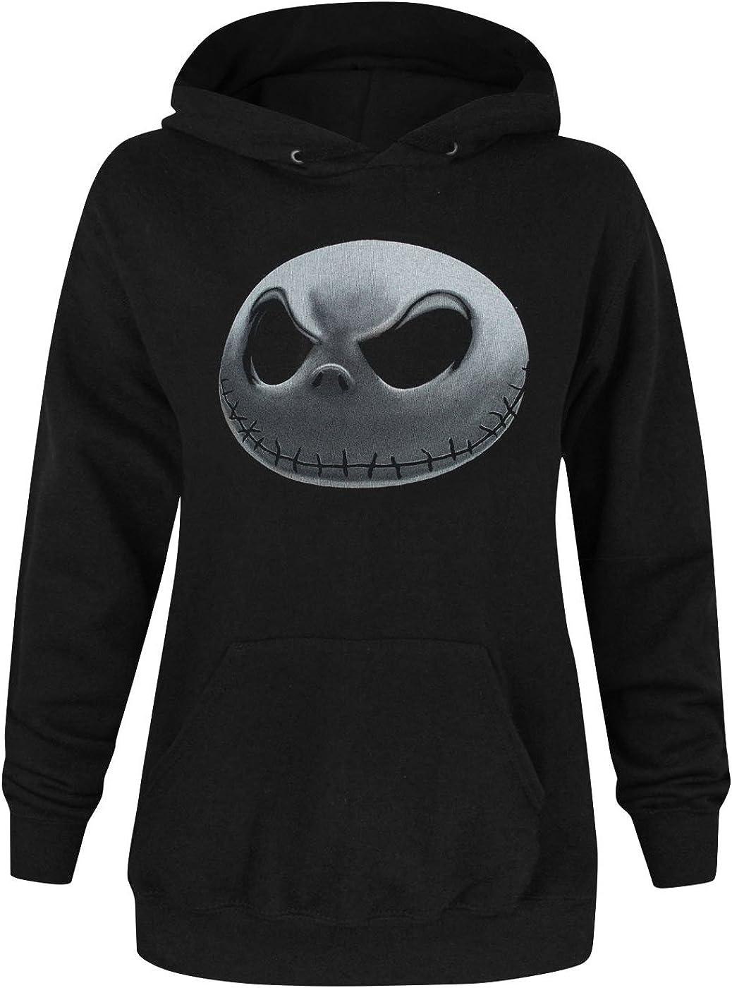 Official Nightmare Before Christmas Jack Skellington Women/'s Sweater
