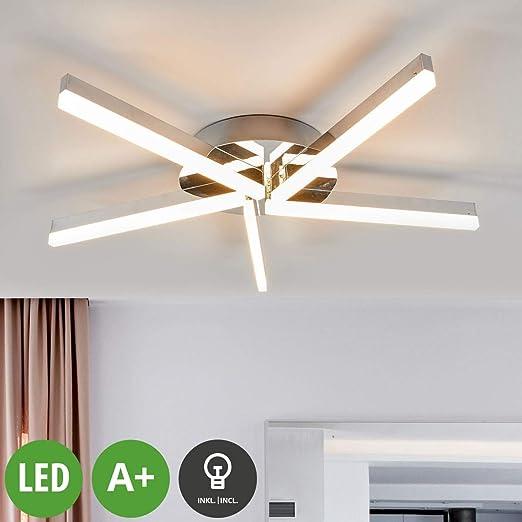 LED Lámpara de techo Patrik (Moderno) en Plateado hecho de ...