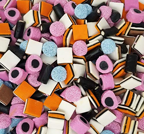 CrazyOutlet Pack - Gustaf's Allsorts Gourmet English Licorice Candy, Natural Color & Flavors, Bulk Pack, 2 lbs ()