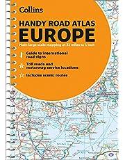 Road Atlas Europe 2021 Handy: A5 Spiral
