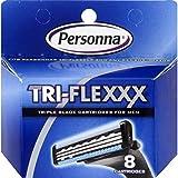 Personna Triflexxx Cartridges for Men - 8 Ea, 12 Pack