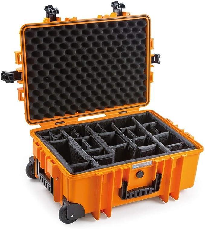 B W Outdoor Case Hartschalenkoffer Typ 6700 Mit Kamera