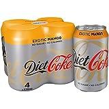 Diet Coke Mango 4X330ml