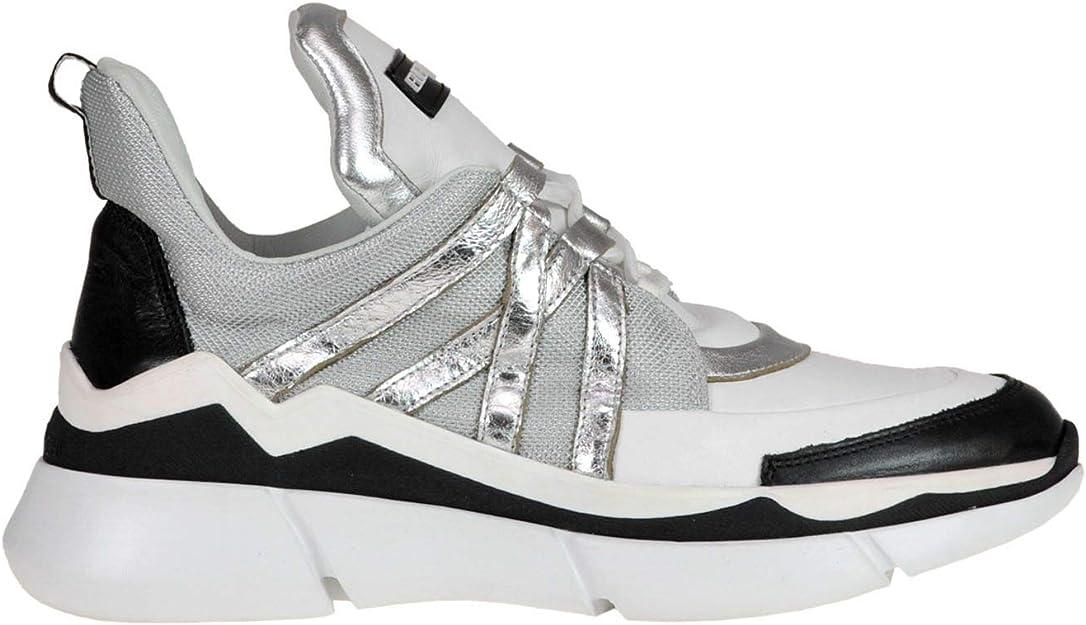 Luxury Fashion   Elena Iachi Mujer MCGLCAK000006022I Blanco Zapatillas   Temporada Outlet: Amazon.es: Zapatos y complementos