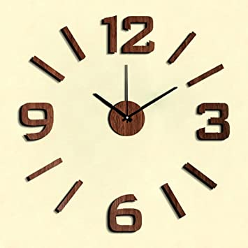 New Acrylic Wall Clock Modern Design Reloj De Pared Quartz Watch Large Decorative Clocks Europe Living