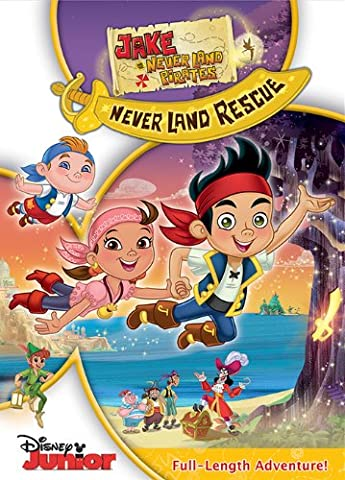Jake and the Never Land Pirates: Jake's Never Land Rescue (Jake Long Dvd)