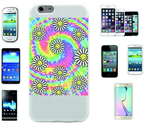 """Smartphone Case Apple IPhone 7+ Plus """"Regenbogen mit Blümchen und vielen Farben"""", der wohl schönste Smartphone Schutz aller Zeiten."""