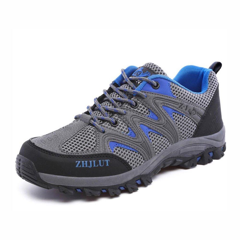 YaXuan Zapatos para Caminar para Hombres - Zapatos Ligeros, Calzado con Forro de Malla, Parachoques para el Talón y el pie - para Caminar, Caminar, Viajar Este Verano, Zapatos para Parejas 38|Do