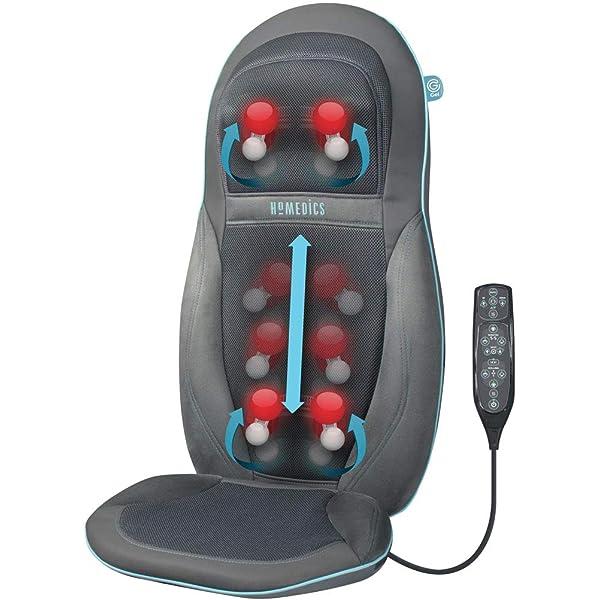 Medisana MC 825 Cojín de masaje Shiatsu, cojín de asiento de ...