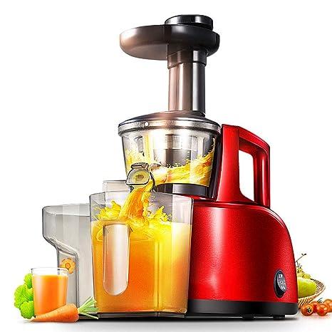 Lxj Exprimidor juicer automático Multifuncional hogar Lento Zumo Mini Taza Jugo Crudo Frito Jugo