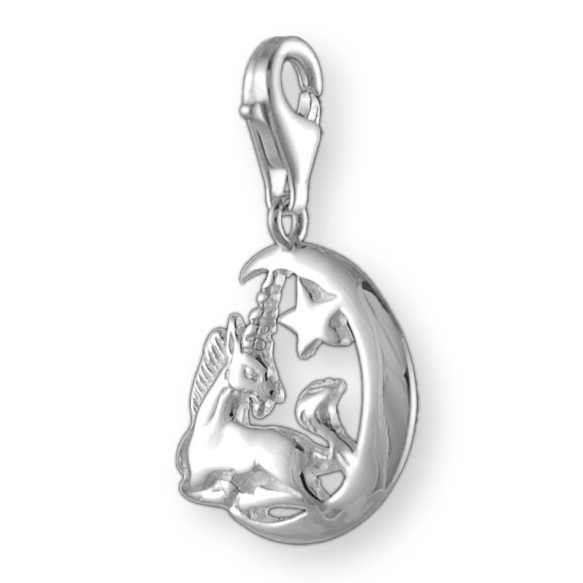 Melina Damen-Charm Anhänger Einhorn 925 Sterling Silber 1800880  Amazon.de   Schmuck 8347f51457