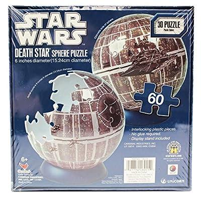 Star Wars Miniature Death Star 3D Spherical Puzzle (60pc)