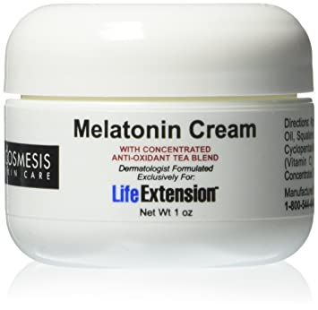Amazon.com : Life Extension Melatonin Cream, 1 Ounce : Body Gels And Creams : Beauty