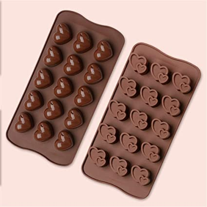Bekith Chocolate, molde de silicona, 6 unidades, bombones