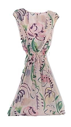 894afc974445f Victoria's Secret Swim Cover up Maxi Dress Floral Beach Caftan ...