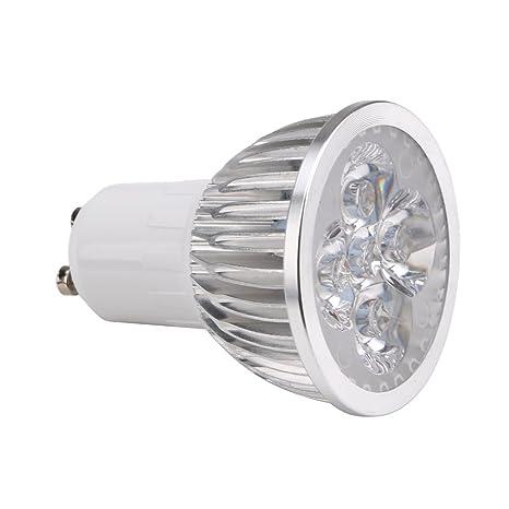 amazingdeal365 Super brillante 8 W GU10 LED bombilla focos LED regulador de intensidad de color blanco