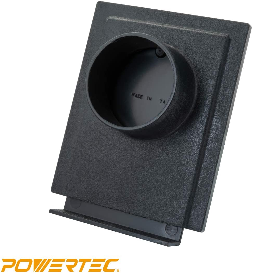 70133 4 Zoll f/ür Staubsauger POWERTEC 70108 Druckgitter 10,2 cm