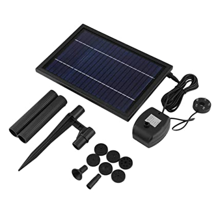 Pumps Lower Price with Newest Sp025 Modern Design Home Garden Decoration Mini Solar Powered Solar Panel Fountain Pool Garden Watering Pump