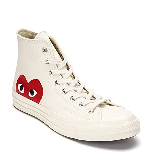 f616e9d66f1b42 Comme des Garcons Play Converse Chuck Taylor High Top Sneakers P1-K112 (US  11