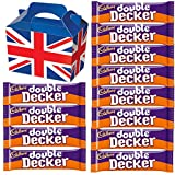 Cadbury Double Decker 54.5g - 12 FULL SIZE 54.5g bars of delicious Cadbury Chocolate in a unique Gift Box and a free British Chocolate.