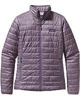 womans patagonia nano puff rstp jacket m