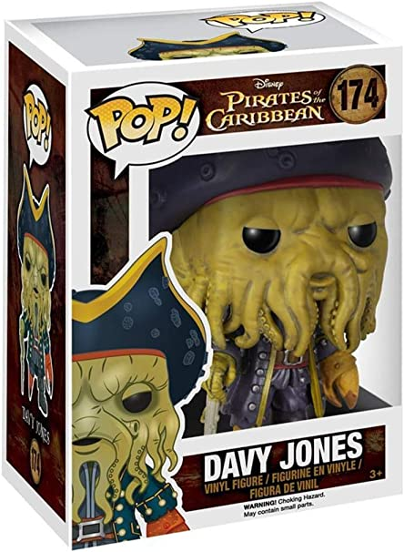 Figura Disney Piratas del Caribe Davy Jones: Amazon.es: Juguetes y juegos