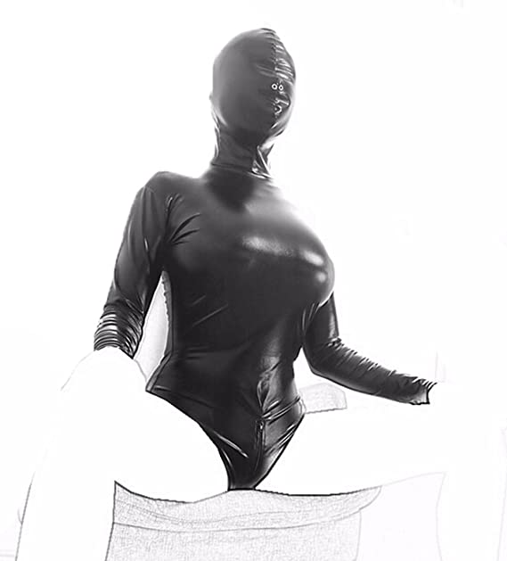 BDSM Bondage Restraints Erotic Lingerie Hood Mask Straitjacket Head Harness  Blindfold Sex Toy (black): Amazon.ca: Clothing & Accessories