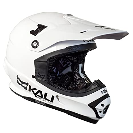 Kali sastra Color Blanco Dirt Bike ATV Off Road MX - Casco ...
