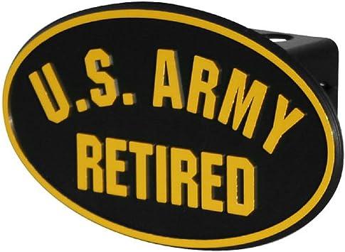Siskiyou STH16B Army Retired Hitch Cover