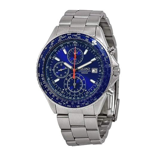 Amazon.com: Seiko De los hombres SND255 Taquímetro Reloj ...