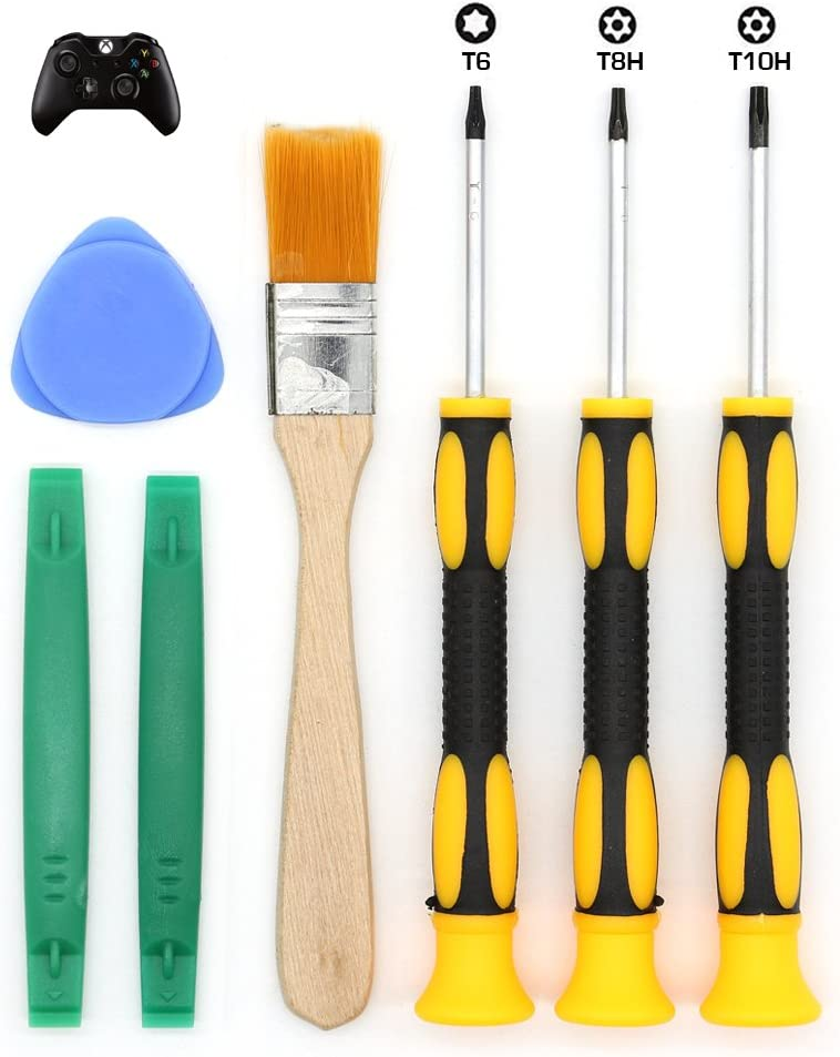 e durable t8 t6 t10 screwdriver set for xbox one xbox 360 controller and ps3 ps4. Black Bedroom Furniture Sets. Home Design Ideas