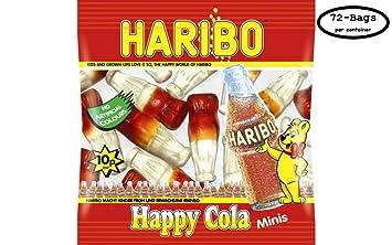 amazon com haribo happy cola minis 72 count 1 pound 13 28 ounce