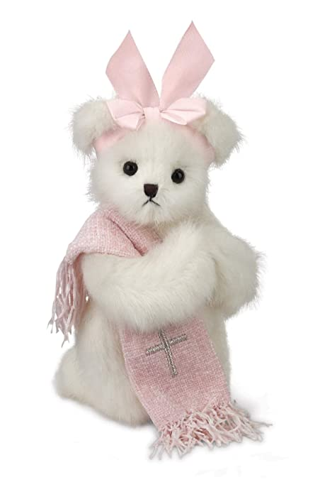 178d23478bd Amazon.com  Bearington Patty Praymore Plush Stuffed Animal Baptism ...
