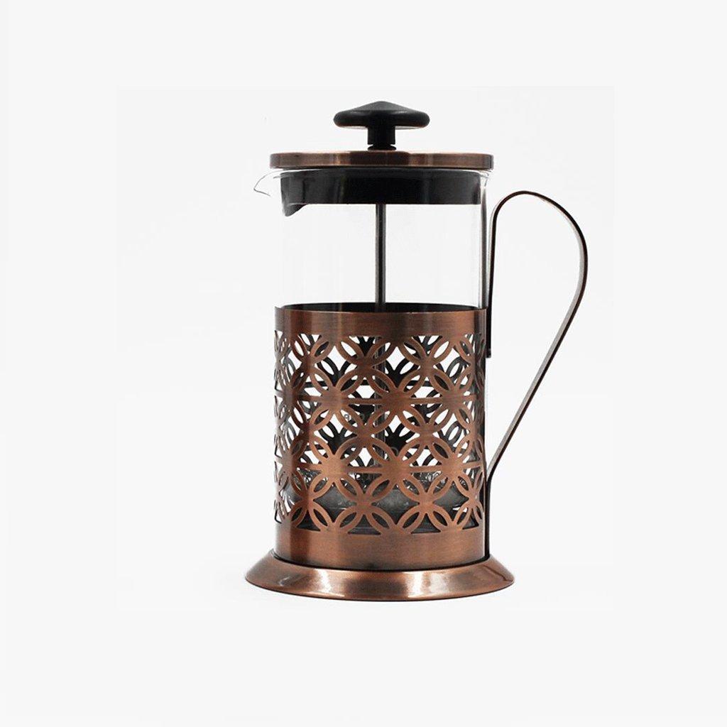 Acquisto Caffettiera ZHAOJING Spesse Home Vetro Resistente al Calore Filtro per infusione di tè Fine (capacità : 600ml) Prezzi offerta