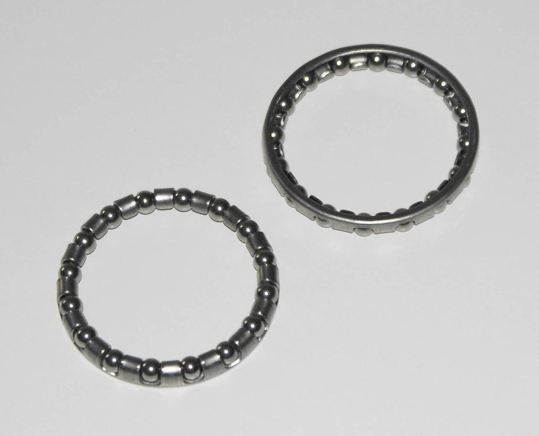 "Bicycle Caged Race Ball Bearing 5//32/"" Headset Bottom Bracket"
