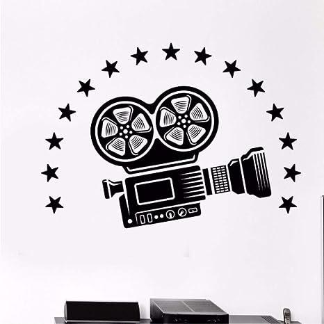 Vinilo Tatuajes de pared Cámara de vídeo Arte de la pared Mural ...