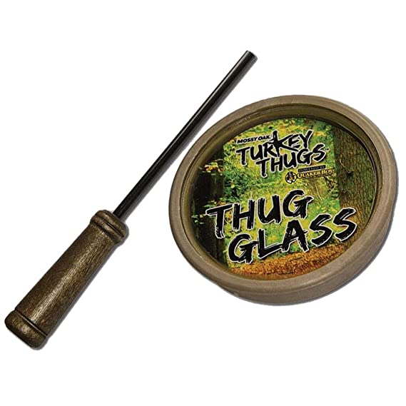 Amazon.com : Quaker Boy THUG Glass Game Call 99405 : Turkey Calls And Lures : Sports & Outdoors