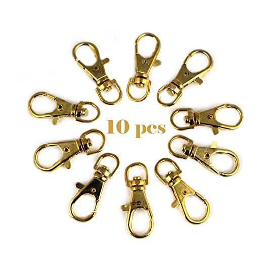 RUBY-10 Mosquetón para bolso Mosquetón de llavero ganchos de ...