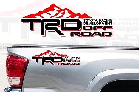 Amazon.com: Adhesivo de vinilo para Toyota TRD Camión ...