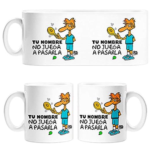 Diver Tazas Taza Padel yo no Juego a pasarla Personalizable con ...