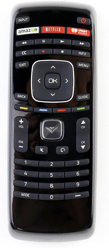 Amazon.com: XRT112 Remote Control fit for Vizio Smart Internet LED TV with Netflix/iHeart Radio APP Keys: Home Audio & Theater