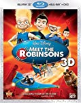 Cover Image for 'Meet The Robinsons (Three-Disc Combo: Blu-ray 3D/Blu-ray/DVD)'