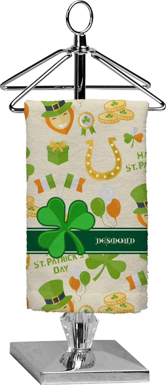 RNK Shops St Full Print Patricks Day Finger Tip Towel Personalized