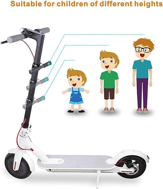 Keenso Electric Acero Inoxidable Scooter Handle Scooter el/éctrico Handle Grip Bar Safe Holder Safe Kids para Xiaomi M365