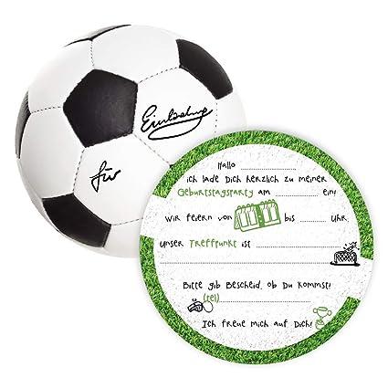 K 12 Einladungskarten Kindergeburtstag Fussball Die Kinder